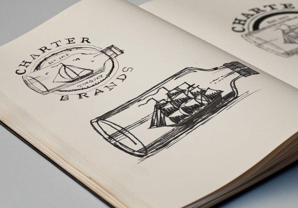 Charter brands Sketchbook